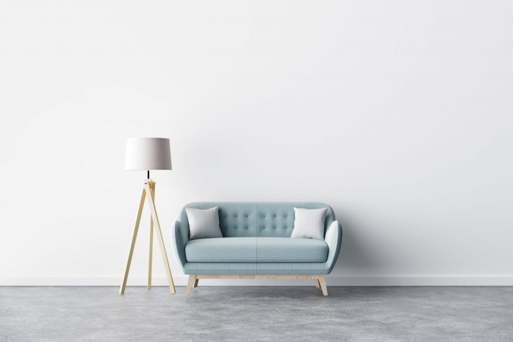 White paints are not just for making your small space look and feel huge, they can also help you feel calm and peaceful