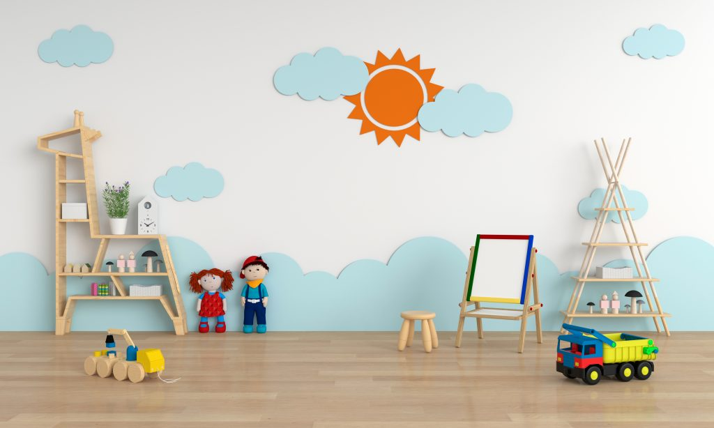 A Creative Play Space When You Decorate Your Child's Room