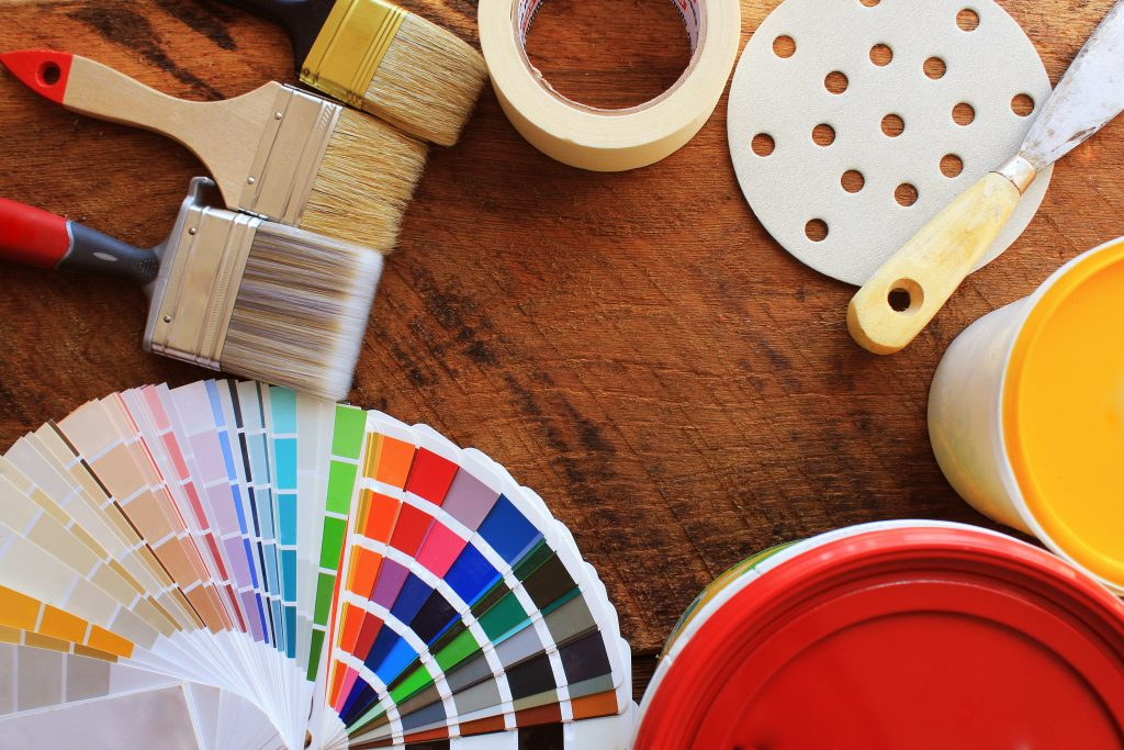 Essential tools required for painting like a pro