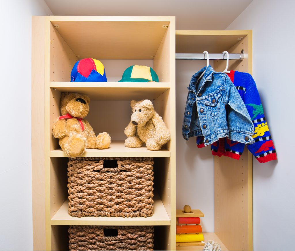 Decorative Cabinets for a Child's Room