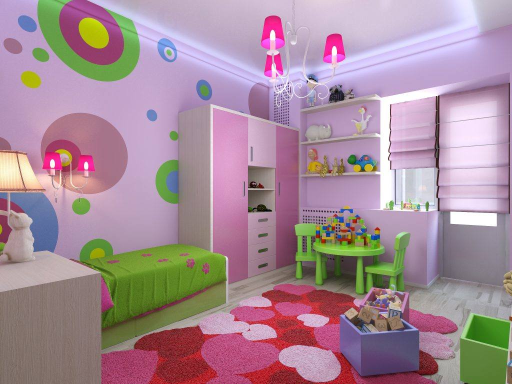 Colourful Decoration for Child's Room