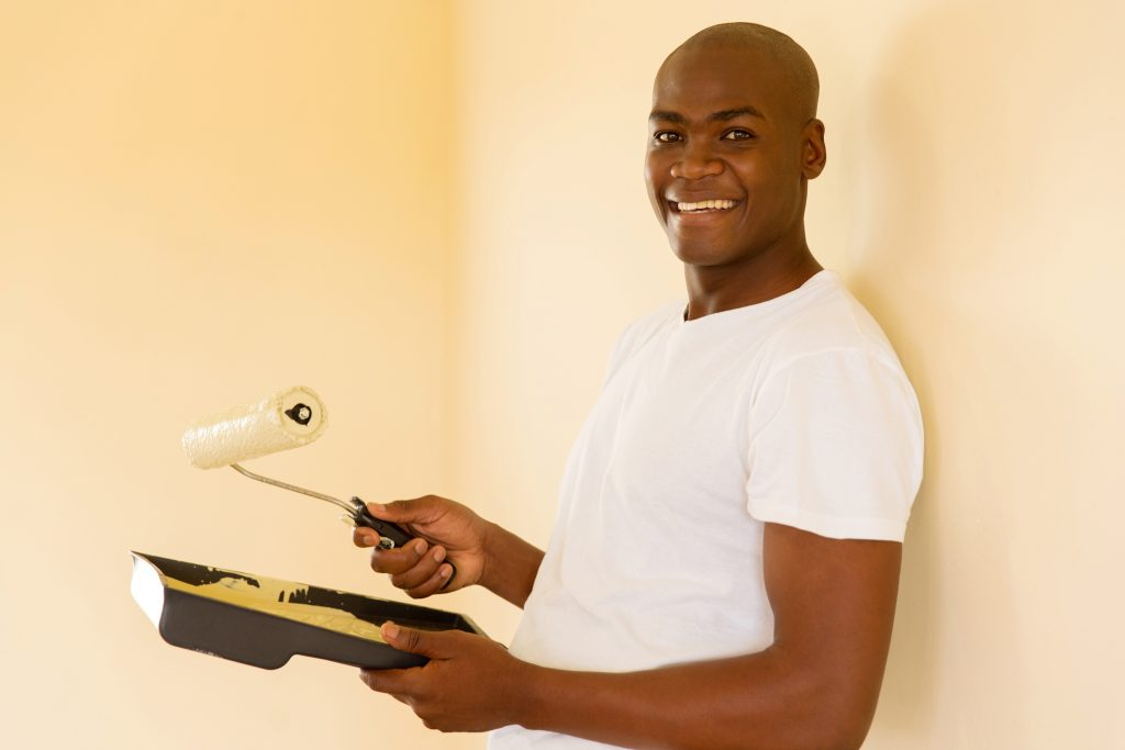 An experienced painter